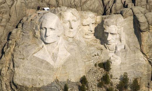 Das Monument von Mount Rushmore