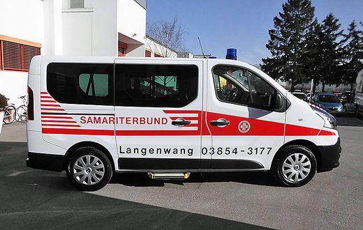 Rettungstransporte sind das zentrale Aufgabengebiet des ASB Langenwang