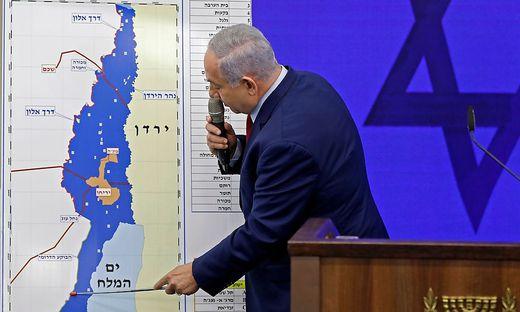 Netanjahu erklärt seine Pläne