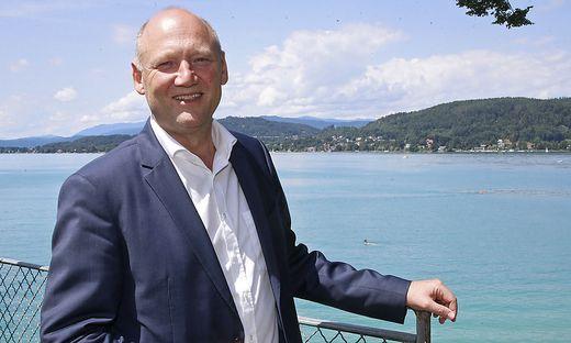 Achim Kaspar, mit Kärntens Wasser eng verbunden