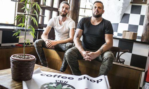 Erster Coffeeshop in Kärnten -  Haris Felic und Franz Andreas - Wolfsberg Juli 2017