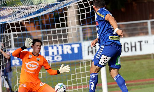 Tino Casali war für Hartberg nicht zu überwinden