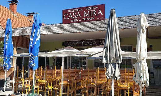 """Im Gebäude des ehemaligen Bauernmarktes befindet sich die """"Casa Mira Trattoria"""""""