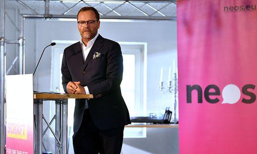 Neos-Wirtschaftssprecher Sepp Schellhorn