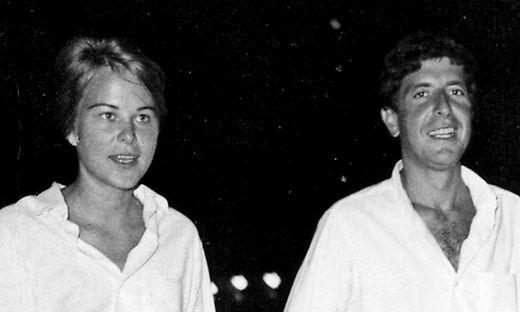 Marianne Ihlen und Leonard Cohen
