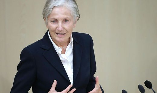 Ex-NEOS-Abgeordnete und frühere OGH-Präsidentin Irmgard Griss