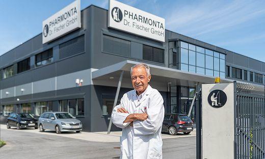 Firmenchef Gernot Fischer denkt auch mit 86 Jahren nicht an den Ruhestand