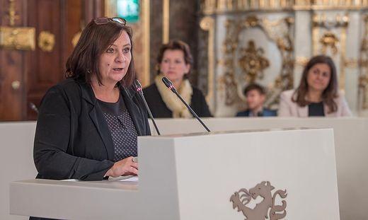 KPÖ-Klubobfrau Klimt-Weithaler