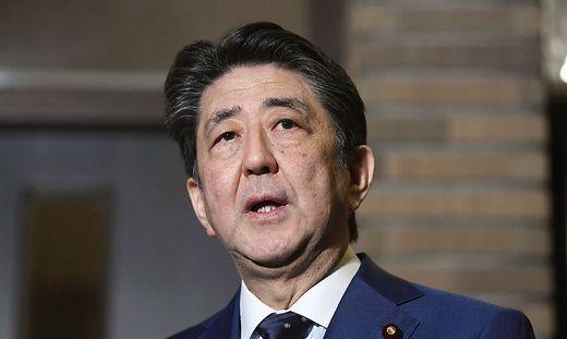 Japans Premier Shinzo Abe