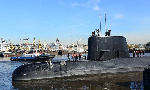 In Deutschland gebautes U-Boot im Atlantik vermisst