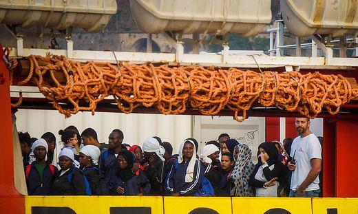 Italien fühlt sich in der Flüchtlingskrise von EU-Partnern im Stich gelassen