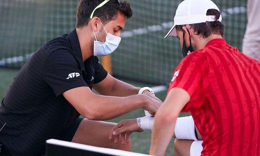 Dominic Thiems Verletzung ist schwerer, als anfangs befürchtet