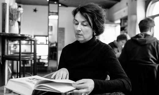 Die ungarisch-deutsche Schriftstellerin Zsuzsa Bánk