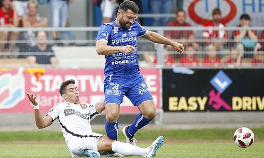 Dario Tadic soll heute für Tore sorgen.