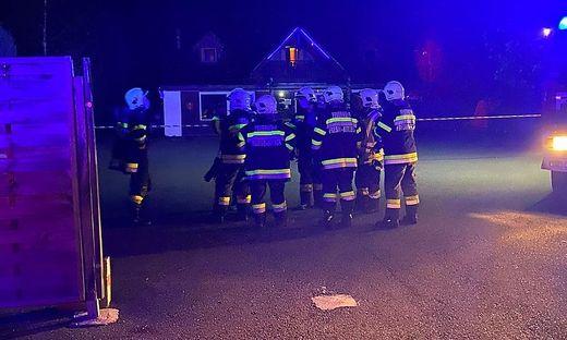 Die Feuerwehrleute führten Belüftungsmaßnahmen durch