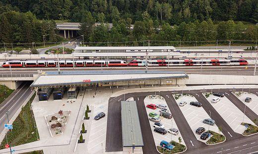 Bahnhof ist eröffnet