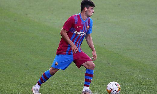 FC Barcelona, Barca v Gimnastic de Tarragona - Friendly Match Yusuf Demir during the friendly match between FC Barcelon