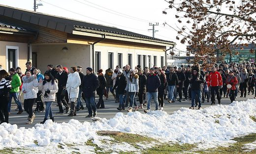 600 Menschen demonstrierten in Leibnitz gegen die Corona-Maßnahmen