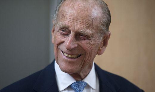 Prinz Philip starb am 9. April 2021 im Alter von 99 Jahren