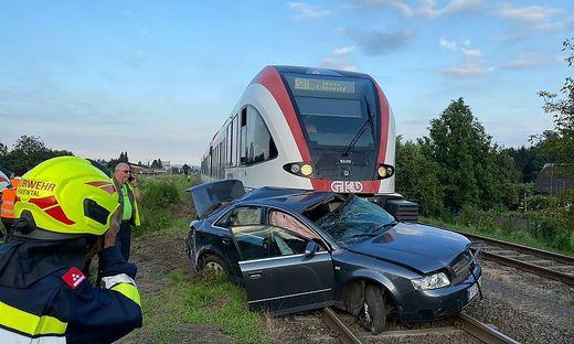 Das Auto wurde 200 Meter mitgeschleift