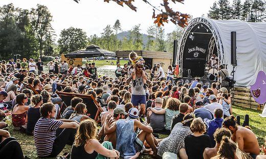 Acoustic Lakeside Festival - Samstag - Sonnegger See Sittersdorf Juli 2018