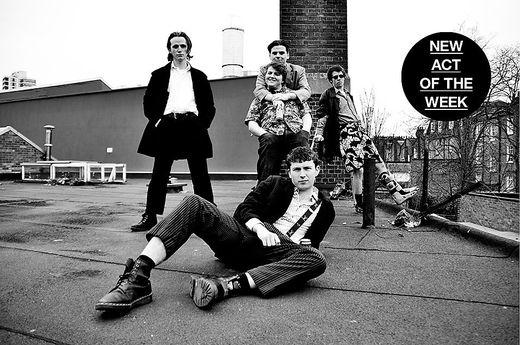 """Die Band """"Shame"""" tritt in die Punk-Fußstapfen Londons"""