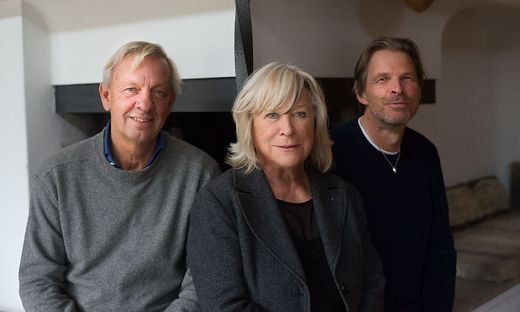 Ingmar Bergman JR, Margarethe von Trotta und Daniel Bergman