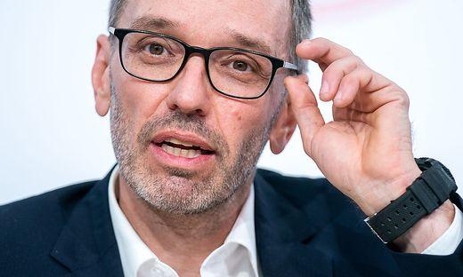FPÖ-Klubobmann Herbert Kickl