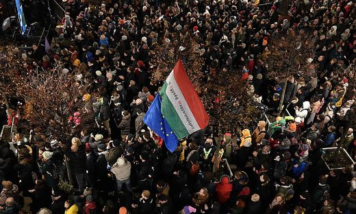 HUNGARY-GOVERNMENT-CULTURE-DEMONSTRATION