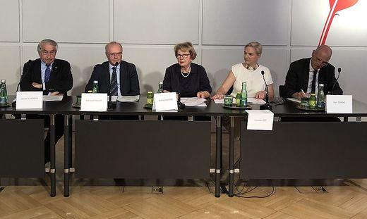 Expertenkomission unter Leitung von Waltraud Klasnic