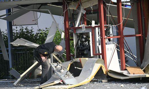 """Der """"Drive-in-Bankomat"""" in Hart wurde komplett zerstört"""