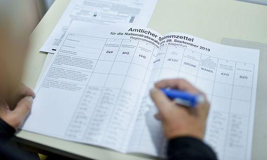 Auf den Stimmzetteln sind Kandidatinnen zumeist in der Minderheit