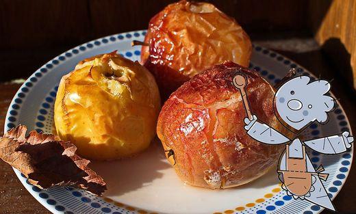 Kochen mit Äpfeln (Symbolbild)