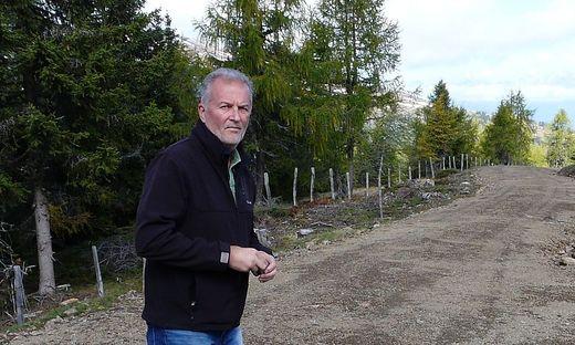 Zufriedener Rückblick: Richard de Roja hat zahlreiche Almwege in Kärnten verwirklicht