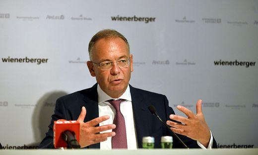 WIENERBERGER AG - ERGEBNISSE 1. HALBJAHR: SCHEUCH