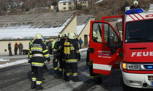 Etwa 60 Feuerwehrleute waren im Einsatz