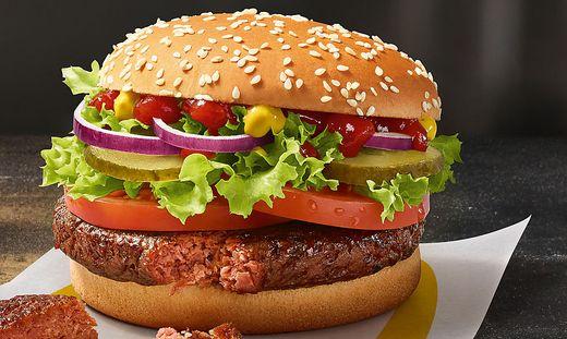 Der Big Vegan TS ist der erste vegane Burger bei McDonald´s