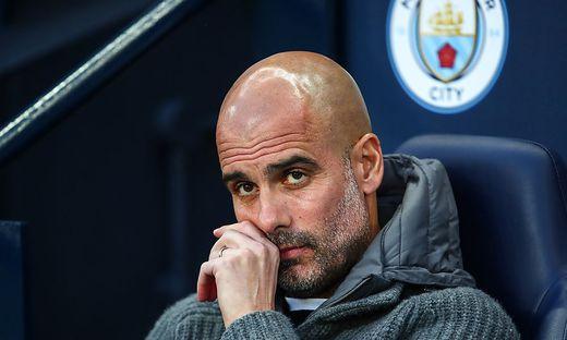 City-Trainer Pep Guardiola