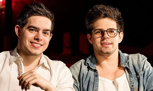 Eroberten parallel, aber von verschiedenen Seiten, die Bretter, die die Welt bedeuten: Josef (links) und Johannes Ellersdorfer