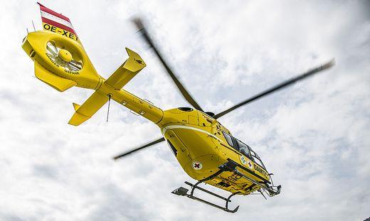 Hubschraubereinsatz für verletzten Mountainbiker