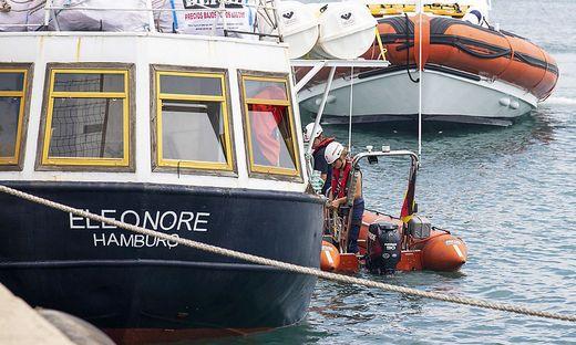 Rettungsschiff konfisziert: Mutmaßlicher Schlepper unter