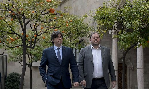 SPAIN-POLITICS-CATALONIA-GOVERMENT