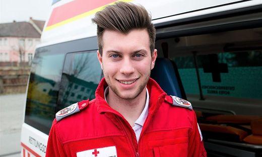 """Der Voitsberger Kilian Pichler ist froh über seinen längeren Zivildienst: """"Es ist toll, dass ich helfen kann"""""""