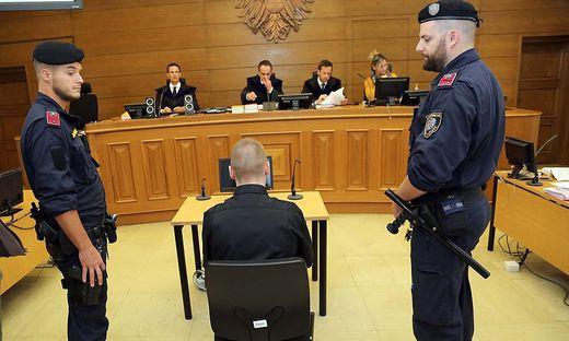 Der Mann zeigte sich vor Gericht geständig