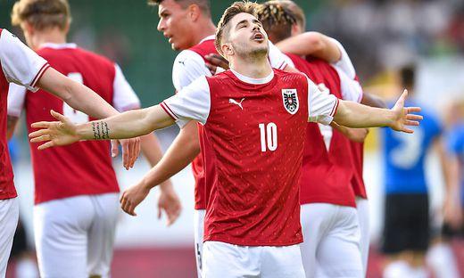 SOCCER - UEFA U21 EURO Quali, AUT vs EST