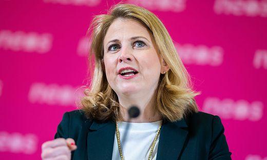 Neos-Vorsitzende Beate Meinl-Reisinger
