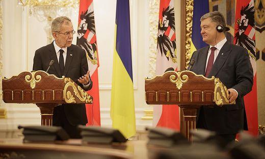 Van der Bellen und Poroschenko