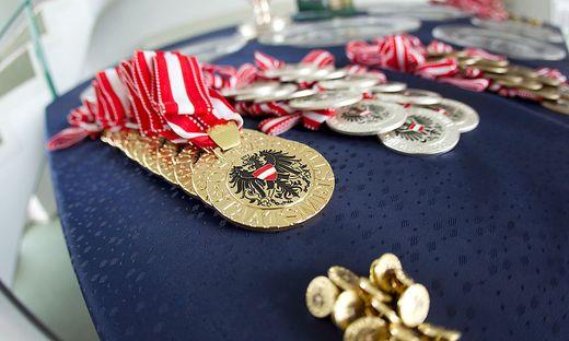 Staatsmeister-Medaillen