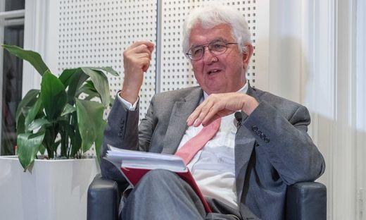 Nationalbank-Gouverneur Robert Holzmann