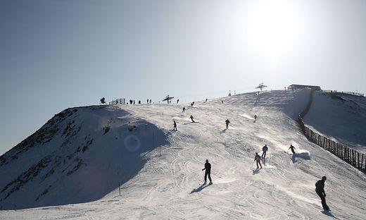 Das Unglück passierte bei der Skiroute Kornock-Steilhang